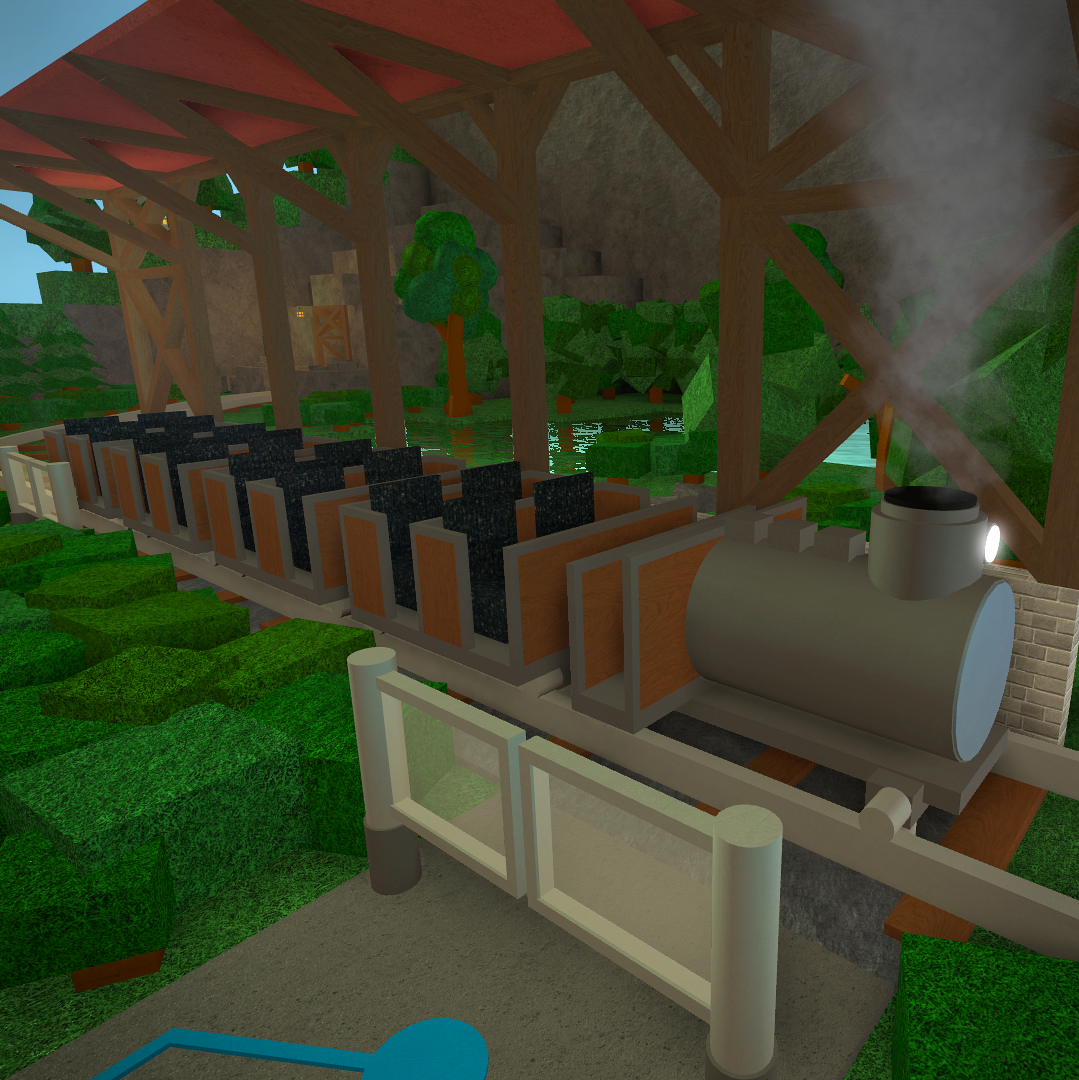 How To Make The Best Amusement Park Theme Park Tycoon 2 In Roblox 3 Transport Train Theme Park Tycoon 2 Wikia Fandom