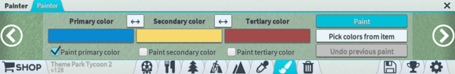 Painter menu