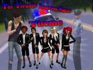 The Teenage Inspection Squad Theme-bg