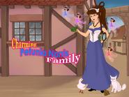 Charming Petunia Norris Family-bg