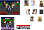 Many Creatures in Square BEMANI Artist Connection