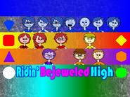 Ridin' Bejeweled High-bg