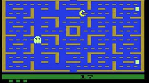 Pac Man For Atari 2600