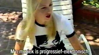 Traci Lords interview @ Veronica TV NL, 1995 '1,000 Fires', L. A. with Floortje Dessing