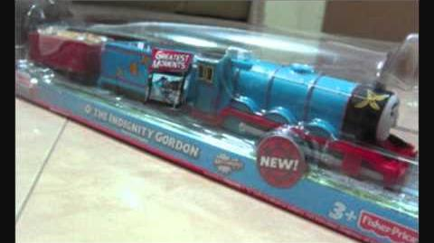 New O' the Indignity Gordon Trackmaster Engine - HD