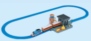 Plarail Talking Coal and Water Depot Set