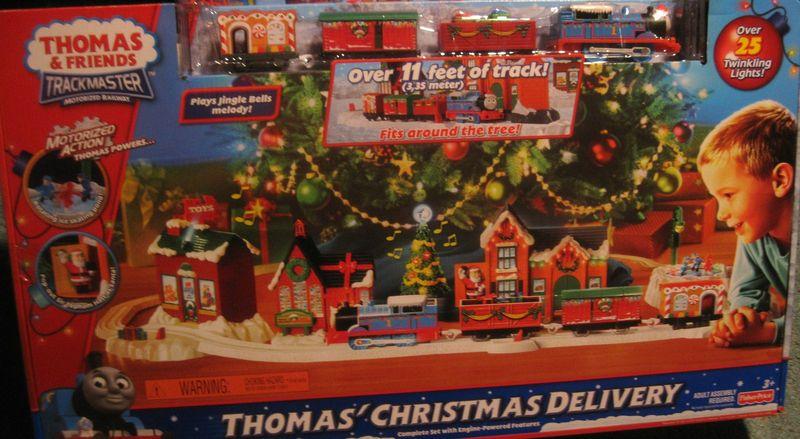 Fotos Cena Navidad Frinsa.Thomas Christmas Delivery V7625 Trackmaster Thomas And