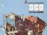 Allis-Chalmers 860 cotton picker