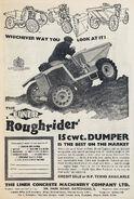 A 1960s LINER Roughrider Sitedumper