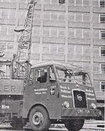 A 1963 REDLER Mobilecrane on a SEDDON Lorry