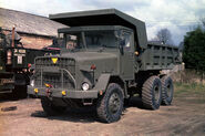 A 1970s Aveling-Barford 690 Army Dumptruck Diesel