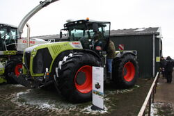 Claas 5000 Xerion at Lamma 2013 - IMG 6271