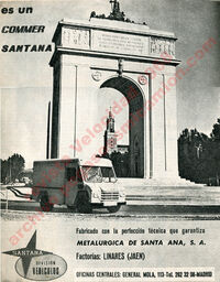 Commer santana velocidad 1968 publicidad pegasoesmicamion