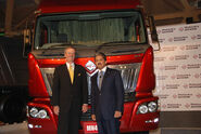 Mahindra Navistar MN49 Launch with Anand Mahindra