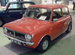 Mini 1275 GT, front