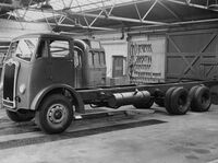 A 1960s GUY Goliath lorry
