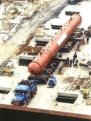 Drax power station boiler