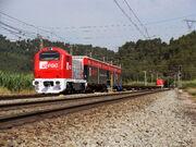 TMD a Castellbisbal Ferrocarrils de la Generalitat de Catalunya