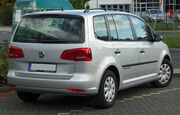 VW Touran II. Facelift rear 20100925