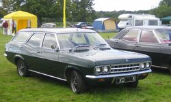 Vauxhall Victor or Ventora FD estate licnse plate 1971