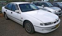 White sedan automobile