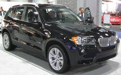 2011 BMW X3 -- 2011 DC