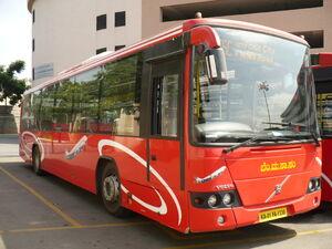 India Bangalore Bus