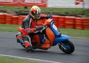 Lambretta scooter racing at 3 sisters