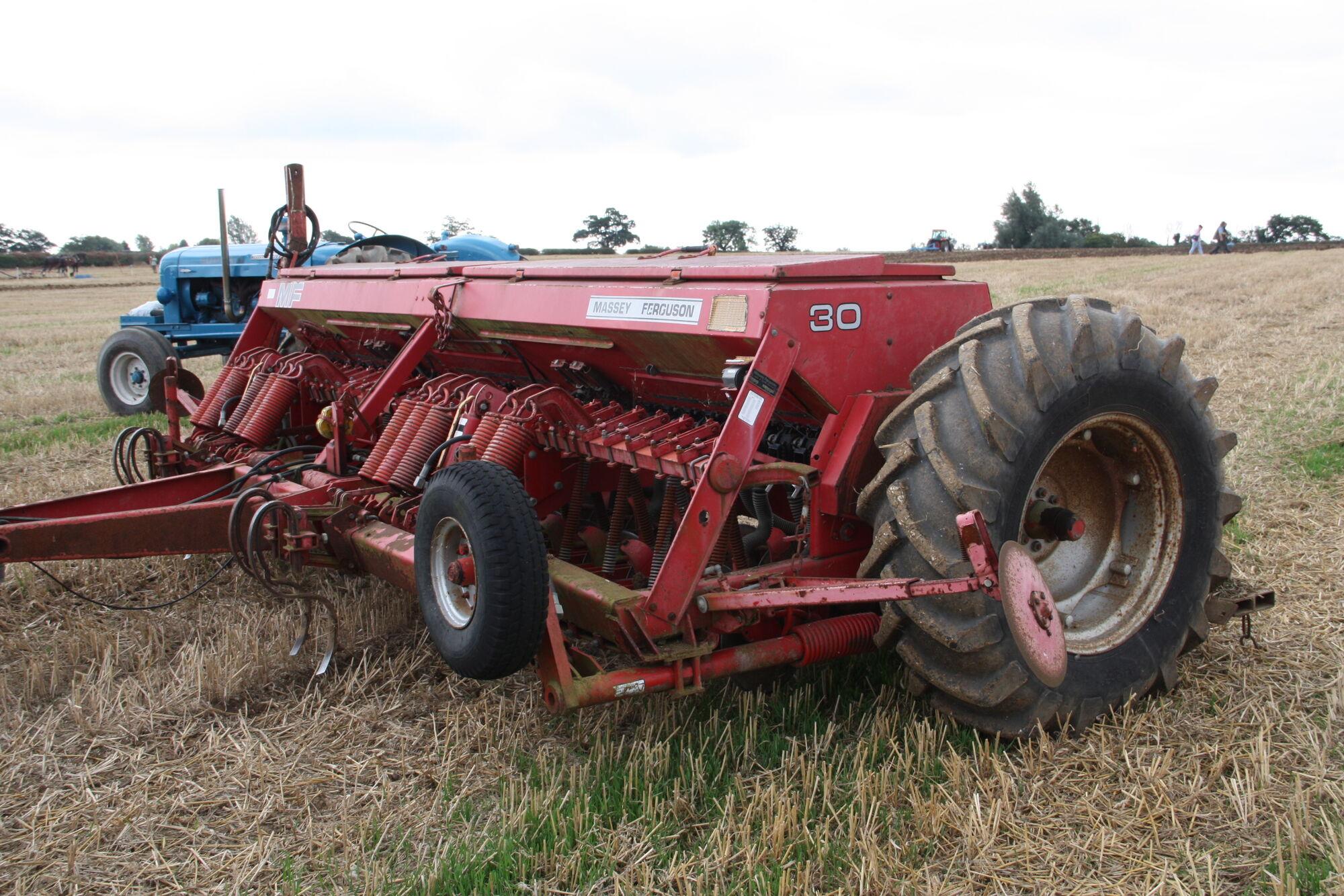 Image - Massey Ferguson MF 30 Seed drill at Maldon WD 11 - IMG 5049.JPG |  Tractor & Construction Plant Wiki | FANDOM powered by Wikia