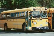 1966 Gillig Model 743D formerly operated by Peninsula School District in Washington State.