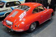 Porsche 356 red Heck