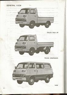 21- Mitsubishi COLT T120 1977 & 1978 (all models) General View Pic's 1-3