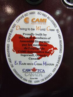 CAMI sticker