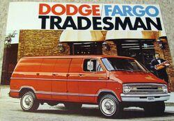Dodge-Fargo Tradesman brochure - 1971