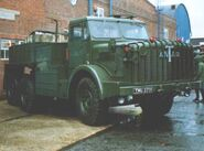 A 1950s Thornycroft Mighty Antar Tractor Diesel