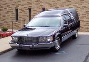 Cadillac Fleetwood hearse 1990s