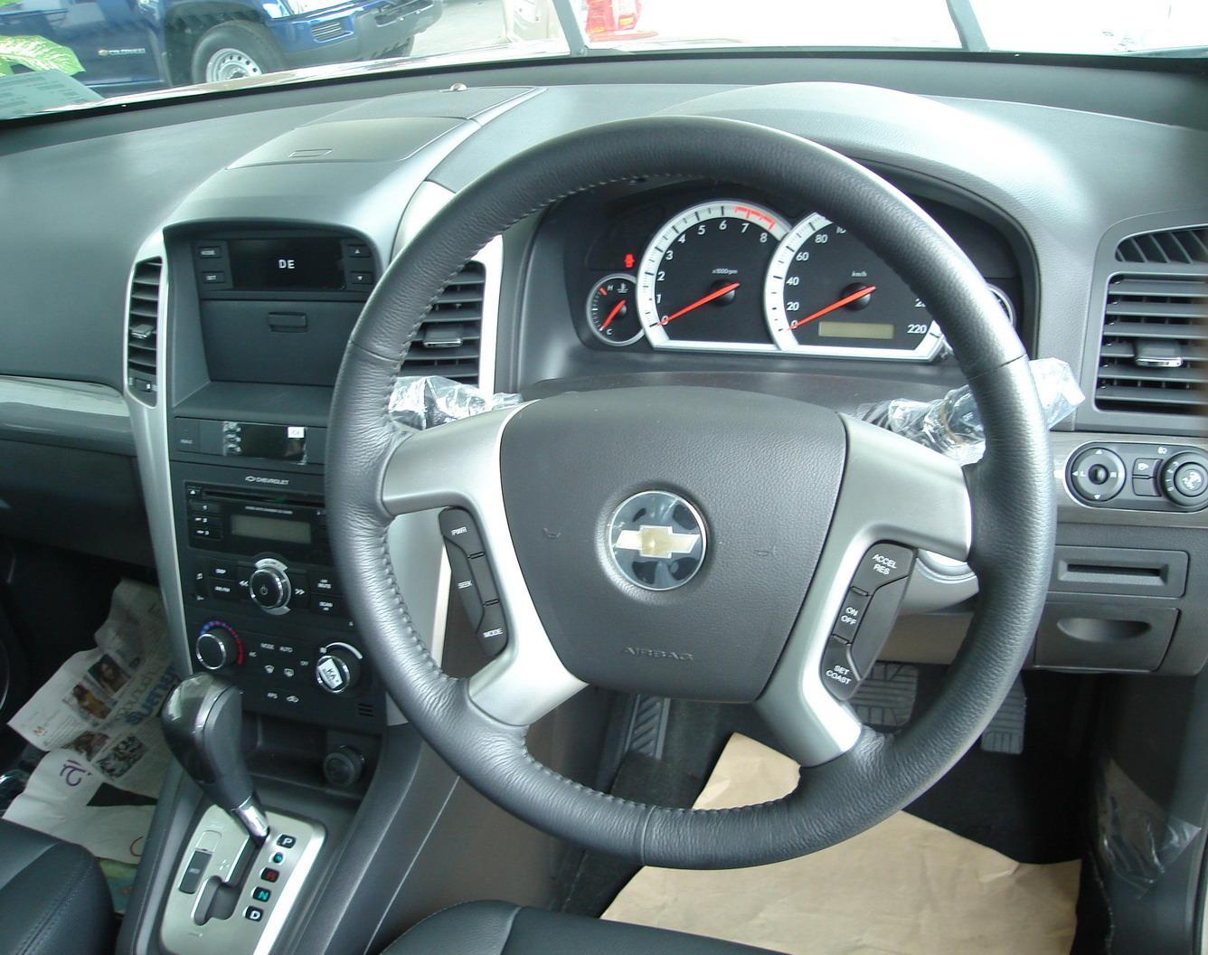 Image - Chevrolet Captiva interior 3.jpg | Tractor & Construction ...