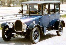 Humber 11,4 HP Saloon 1924