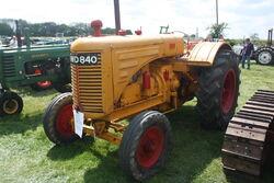 M-M GT of 1942 reg DWD 840 of John Hobbs at Stoke Goldington 09 - IMG 9781