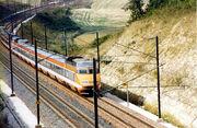 TGV original livery 1987
