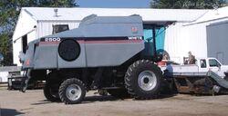 White 2500 combine