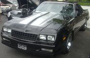 '87 Chevrolet El Camino SS (Cruisin' At The Boardwalk '10)