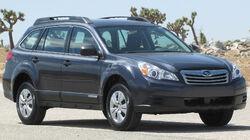 2011 Subaru Outback 2.5i -- NHTSA