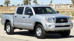 2011 Toyota Tacoma Double Cab -- NHTSA