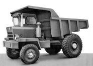 A 1960s Aveling Barford SL270 Mining Dumptruck