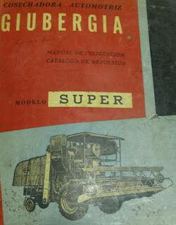 Giubergia Super combine brochure