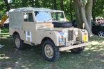 Landrover seies I reg SLD 332 in Desert clour scheme at Woolpit 09 - IMG 1428