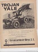 Trojan Yale ad (Spain)