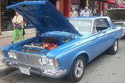 '63 Plymouth Belvedere Coupe (Byward Auto Classic)