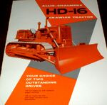 AC HD-16 crawler brochure - 1959